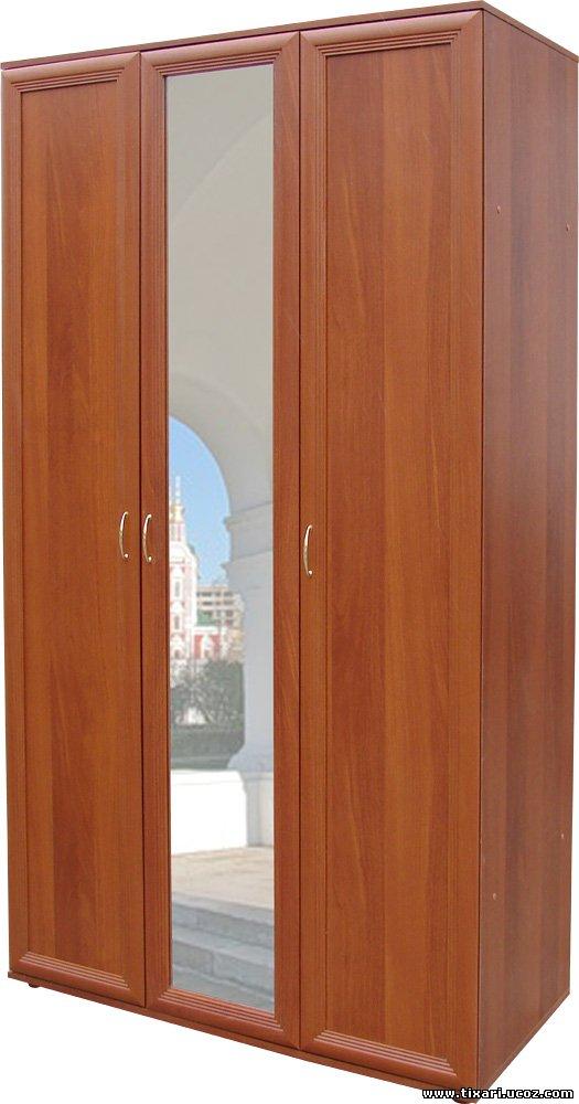 Шкаф для одежды 433/010 (с зеркалом).